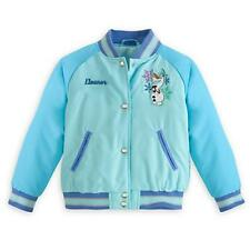 Elsa Frozen Varsity Jacket by Disney for Girls - Size 5/6