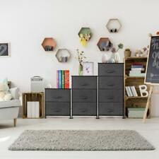 Drawers Dresser Storage Closet Removable Wide Bamboo Shelf Bedside Table Us