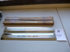 CHRYSLER 300C ab 2005 Einstiegsleisten Schutzleisten Carbonfolie 4tlg