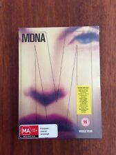 Madonna MDNA World Tour deluxe DVD+2CD Limited Collectors Edition Sealed