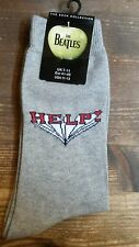 Beatles Help - Grey socks (sokken) Womans/Mens's -  NEW (Official merchandise)