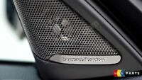 BMW GENUINE NEW 1 F20 FRONT DOOR SPEAKER HARMAN KARDON TWEETER COVER PAIR SET