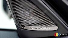 BMW Genuine New 1 F20 Porta Anteriore Altoparlante Harman Kardon TWEETER coppia di copertura Set