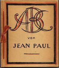 Thea Stratil - Friederici, ABC von Jean Paul, 24 signierte Lithographien