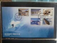 NEW ZEALAND 2005 ROSS DEPENDANCY PHOTOGRAPHY SET 5 STAMPS FDC FIRST DAY COVER