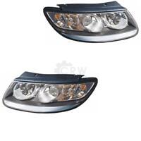 Scheinwerfer Set für Hyundai Santa Fe Typ CM Bj. 06-09 H7+H7