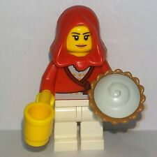 Lego - City - Town Red Riding Hood Student - Teenager Girl Woman Minifigure #2