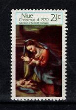 Niue New Zealand 1970 Christmas  SG 154 MNH
