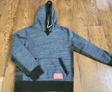Mens Abercrombie & Fitch Hoodie Gray Camouflage Small