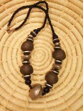new Africa ethnic tribal jngn18 African Recycled Trade Bead Necklace