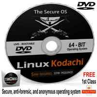 LINUX KODACHI Secure Anonymous Operating System use on any Computer Windows/MAC