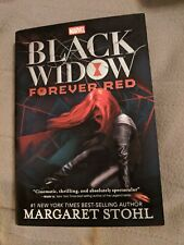 Marvel Black Widow Forever Red Hardback Book