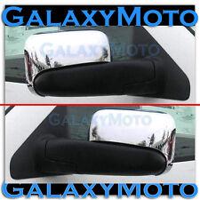 02-08 Dodge Ram 1500+2500+3500 HD Triple Chrome Half Flip Towing Mirror Cover
