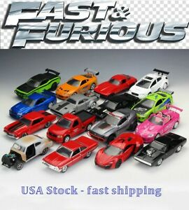 Fast And Furious,Assorted Cars,Collect,Dom/Brian/Letty,Diecast Toy Car,5'', 1:32