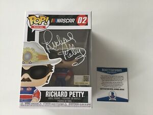Richard Petty Signed Autographed Nascar Funko Pop BECKETT BAS COA b