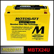 BATTERIA [MOTOBATT] MBTX24U = YTX24HLBS (12 V. / 25 A.) SIGILLATA ATTIVATA