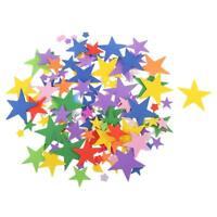 65pcs Mixed Foam Star Shapes Sticker for Kids Children Craft DIY Work Decoration