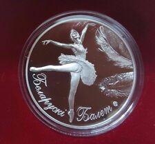 Weissrussland 2013 Belarus Ballett 20 Rubel  im Etui