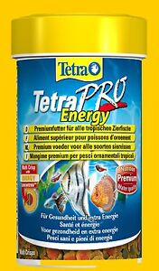 Tetrapro Energy 100 ML Premium Fish Food Increases The Colours And Energy