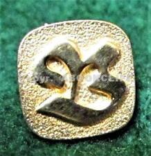 HBC, HUDSON BAY COMPANY Employee Service GOLD COLOR Pin