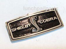 NOS steering wheel horn pad 68 Shelby Cobra GT350 GT500 KR 428 CJ Jet ornament