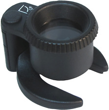 Carson SM-44 5x SensorMag Magnifier LED Lighted Cleaning Loupe
