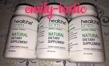 Healthe Trim 3 Bottles 60 Ct =180 Capsules Thermo-Energy Booster NEW HS Skinny