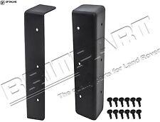 Defender 3 mm en plastique noir CNC SEAT BOX Corner Protector Paire DA1435