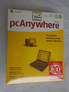 pcAnywhere v10.0 10-User Pack (New!Factory sealed retail box)