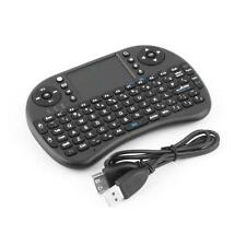 Mini WiFi QWERTY 2.4GHz USB Keyboard Tastatur Touchpad Für Smart TV/TB Box/X-BOX