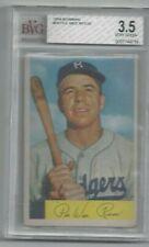 PEE WEE REESE    1954 Bowman #58  Brooklyn Dodgers   SGC 3.5   HOF