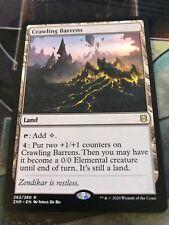 Zendikar Rising - CRAWLING BARRENS Rare  - Pack Fresh - 1 Card