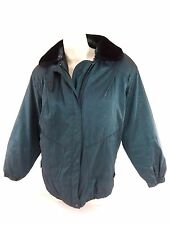 AEROS BY KRISTIN BLAKE WOMENS GREEN INSULATED JACKET SIZE S