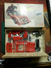 Vintage Bandai Alfa Romeo 33 Plastic Model Kit 1/24 Cassette Motor Sealed Parts