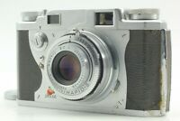 [Opt. MINT] Konica II Rangefinder Film Camera Hexanon 50mm f2.8 From JAPAN 10474