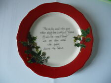 PORTMEIRION  The Holly and The Ivy 6in dessert plate brand new unused