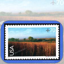 2001 NINE-MILE PRAIRIE  Scenic American Landscapes 70¢  Single  AIR MAIL  #C136