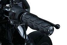 Kuryakyn Iso Grips Black For Harley Davidson Street 500 750 15-16 6409