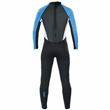 """Yello Mens Full Wetsuit Long Blacktip Diving Swim Wet Suit Large Tall 39"""" Chest"""