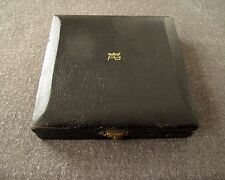 UNUSUAL EARLY 60'S ANTONIO BELGIORNO LINED IN PAPER WOODEN JEWELRY BOX