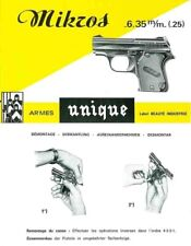 Manufacture d'Armes des Pyrennes- Unique Mikros 6.35mm Pistol