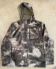 Cabela's Men's Lookout Series Fleece Hooded Hunting Jacket O2 Octane Camo - Med