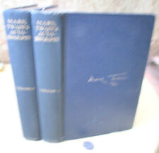 2Vols,MARK TWAIN'S AUTOBIOGRAPHY,1924,Intro by Albert Bigelow Paine,1st Ed