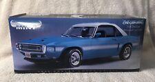 1:18 ERTL American Muscle Blue 1969 Shelby GT350 Serialized 1 of 7,499 NIB VHTF!