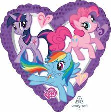 My Little Pony Party Supplies Heart Shape Foil Balloon 45cm