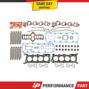 Head Gasket Bolts Set for 00-05 Ford E, F Series V8 5.4 SOHC 16V VIN L, M, W, Z