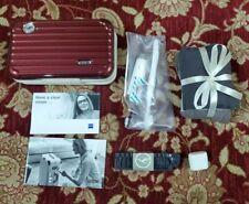 RIMOWA Amenity Kit -VERY RARE LUFTHANSA FIRST CLASS - Metallic Maroon Gloss