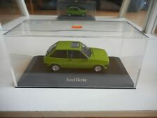 Maxichamps Ford Fiesta in Green on 1:43 in Box