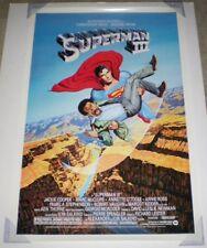 SUPERMAN III MOVIE POSTER SS 1 Sheet ORIGINAL REISSUE 27x40 CHRISTOPHER REEVE
