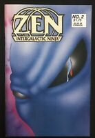 Zen Intergalactic Ninja #2 1987 Original First Printing Comic Book